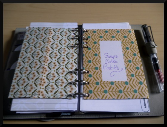 filofax envelopes