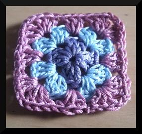 simply crochet granny square one