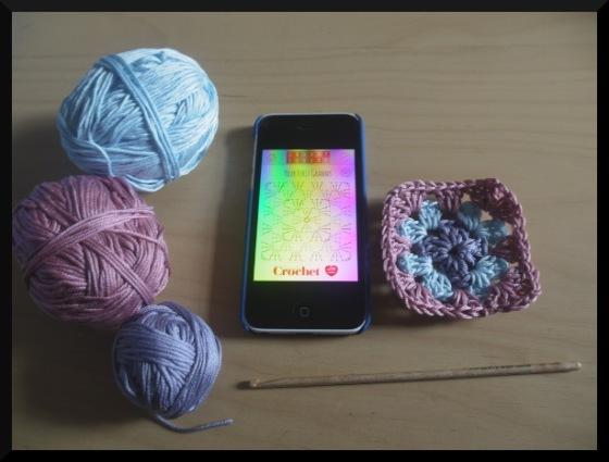 simply crochet granny square